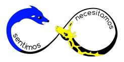 logotipo de sentimos necesitamos